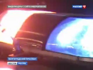 На Волгоградском пр-те прохоitk рейд любителей объезжать пробки задним ходом